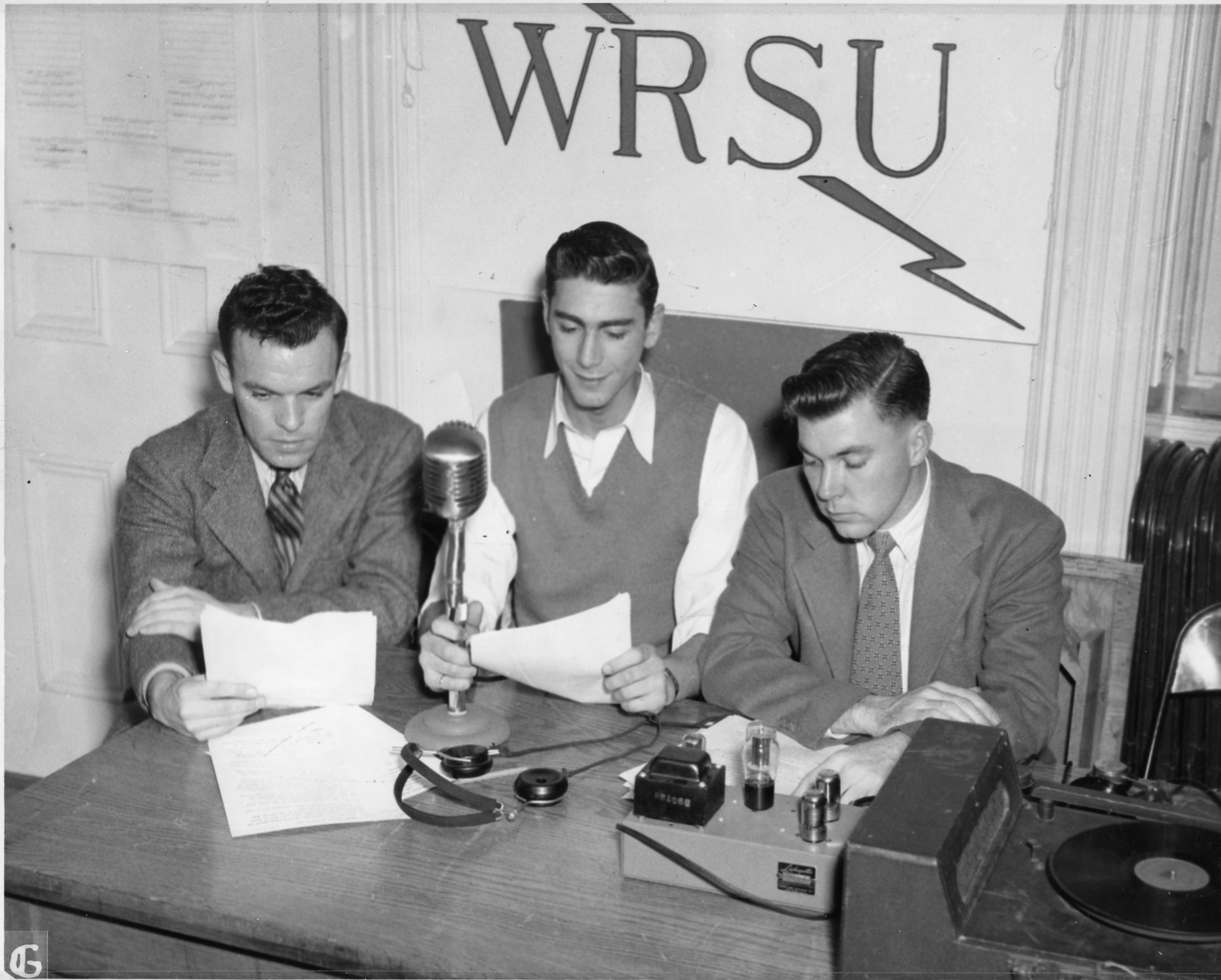 1948 - WRSU on the Air