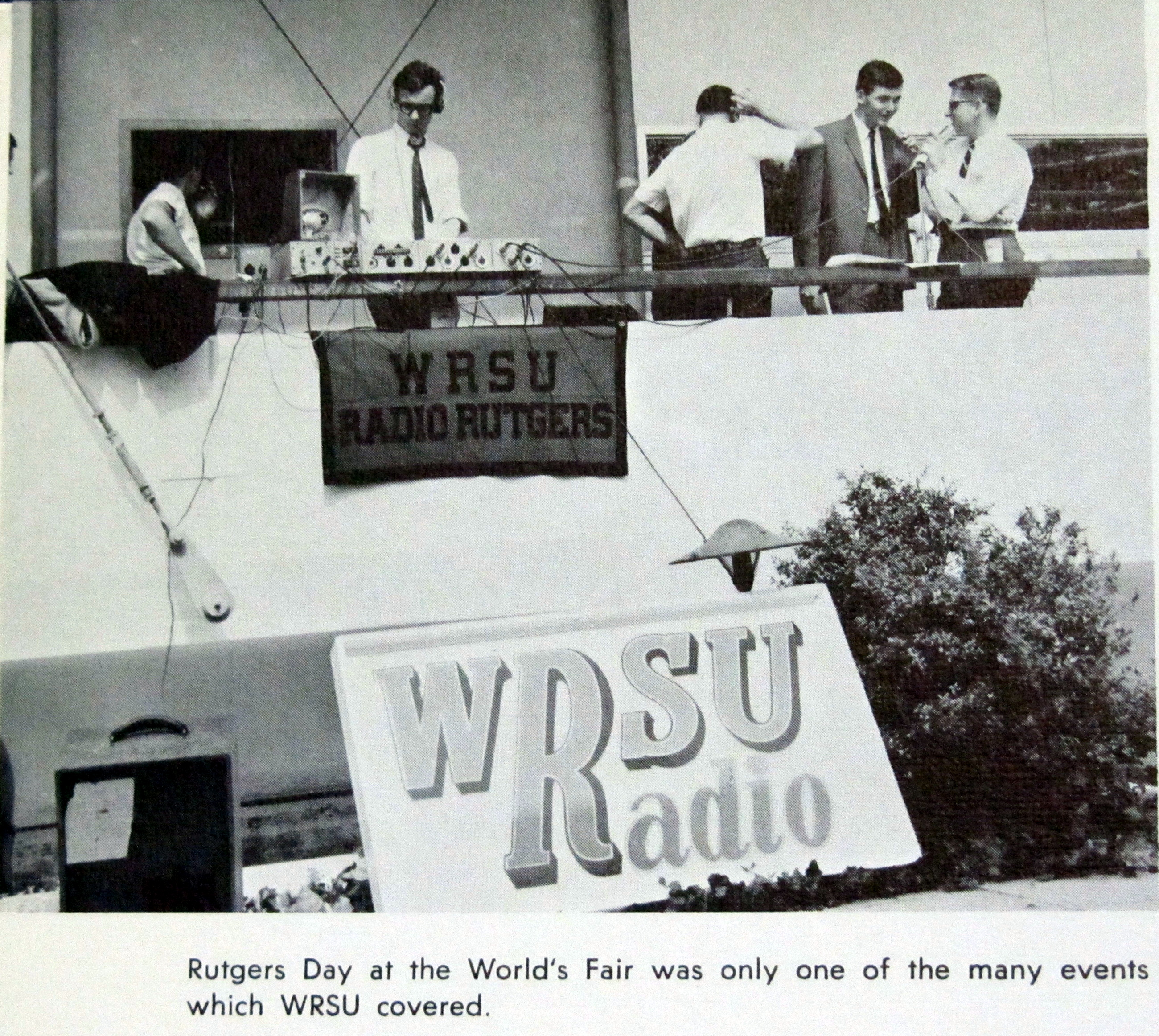 WRSU-AM live at the New York's Worlds Fair.