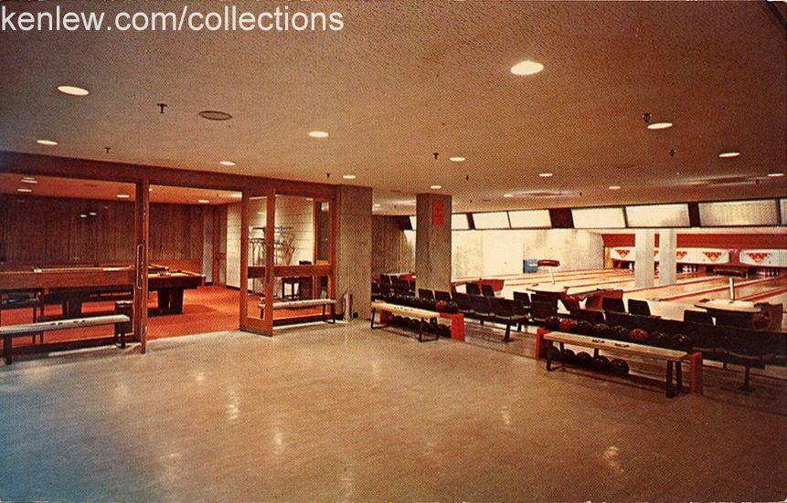 Something from the Memory Book - Who remembers bowling in the basement of the Student Center?