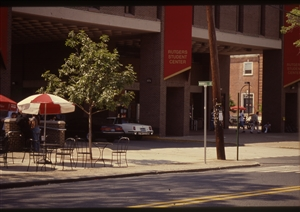 1987 WRSU Orientation Slide Show<br/>Rutgers Student Center<br>Slide #1