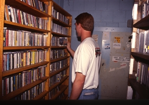 1987 WRSU Orientation Slide Show<br/>Record Library - Dallas Herold<br>Slide #20