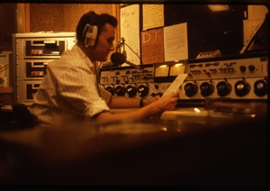 1987 WRSU Orientation Slide Show<br/>FM Control and Hand written signs!<br>Slide #23