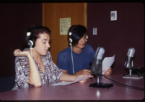 1987 WRSU Orientation Slide Show<br/>Production Team<br>Slide #44