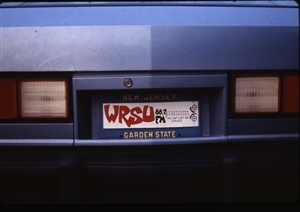 1987 WRSU Orientation Slide Show<br/>Join WRSU NOW<br>Slide #47