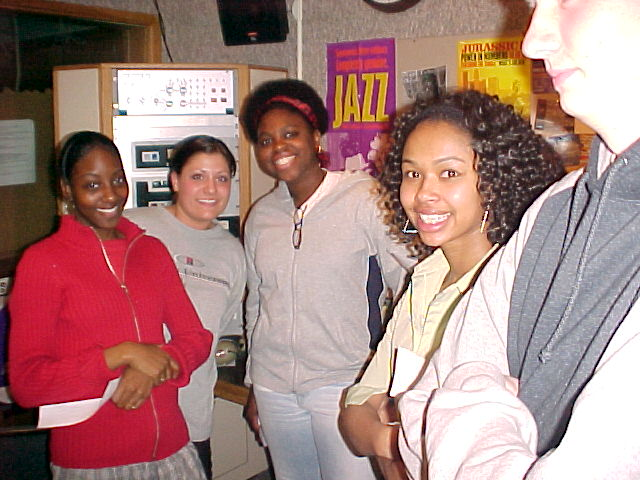 2003 - Staff hanging out in Studio B