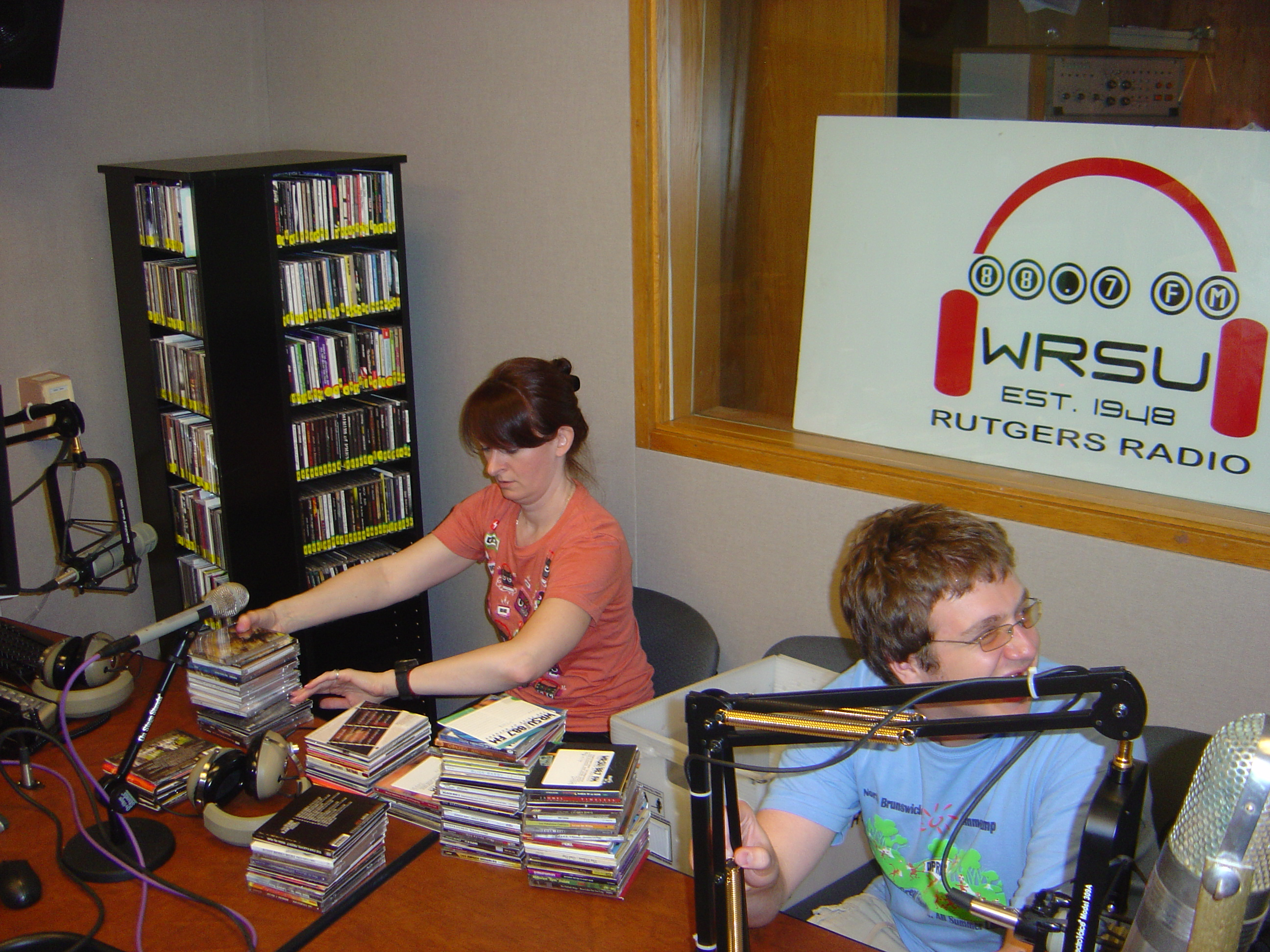 Lisa Uber and Matt Bassel in FM just before the switch