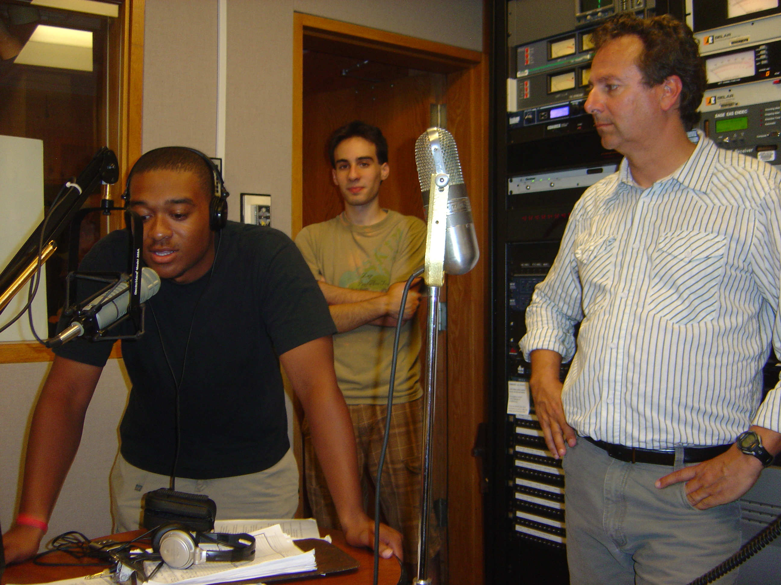 The First Broadcast from the Rebuilt FM Control 2009